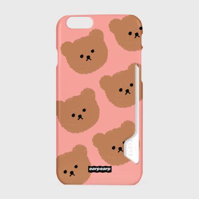 Dot big bear-pink(카드수납케이스)