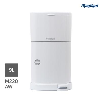 [매직캔] 가정용휴지통 9리터 (M220A)화이트