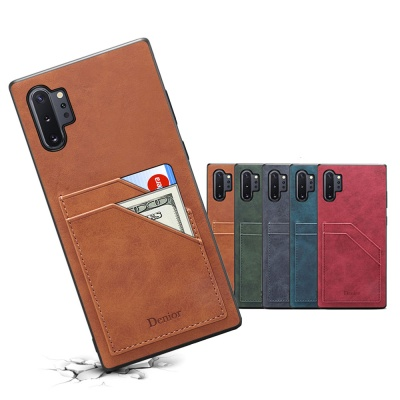 갤럭시S9 플러스 슬림핏 카드수납 가죽 휴대폰 케이스