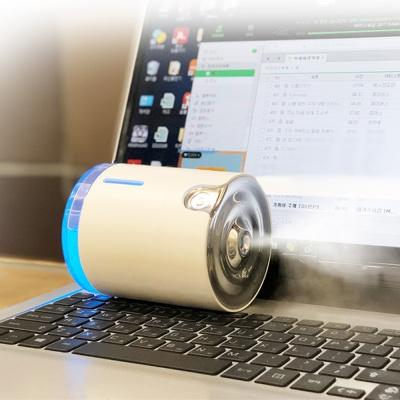 미니 O2 무선 가습기 LED 무드등 수유등 휴대용가습기