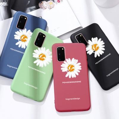 아이폰se2 11 pro max 국화꽃 스트랩 핸드폰줄 케이스