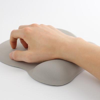 메모리폼 손목 마우스패드(그레이)/ 손목보호패드