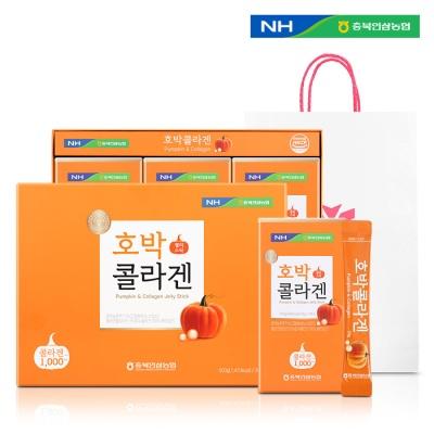 충북인삼농협 호박콜라겐 젤리스틱 (20g x 30포)