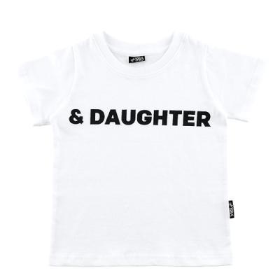 [19B5] 반팔 FAMILY 티셔츠 - KIDS DAUGHTER