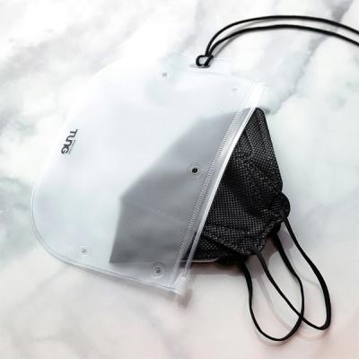 [2+1] 텅 마스크 케이스 목걸이 오염방지 파우치