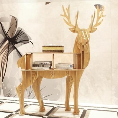 DIY 순록 동물모형 선반 책장 책꽂이 진열선반