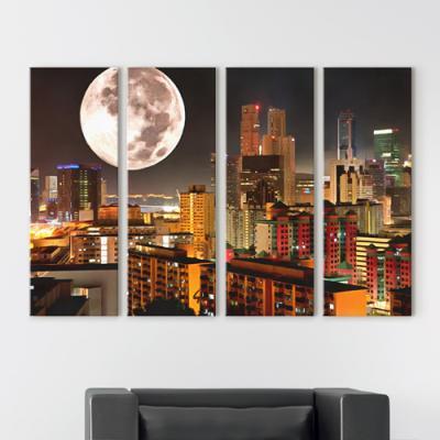 cv527-도시의불빛_달_대형노프레임세트