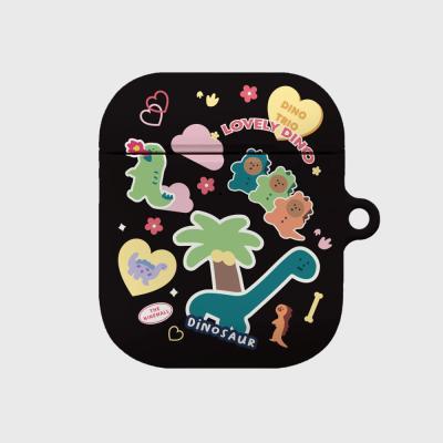 dino sticker pack 에어팟 하드케이스
