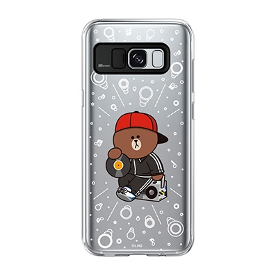 Galaxy S8 Plus BROWN SWAG Light UP Case