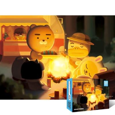 500조각 직소퍼즐▶ 카카오프렌즈 모닥불 [YE871289]