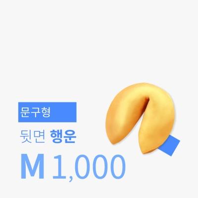 문구제작 포춘쿠키 1,000