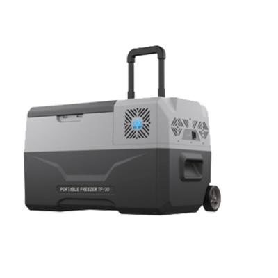 툴콘 이동식 아이스 냉장고 냉동고 TF-40 40L