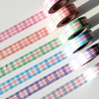 [달페이퍼] 6종 색연필 마스킹테이프