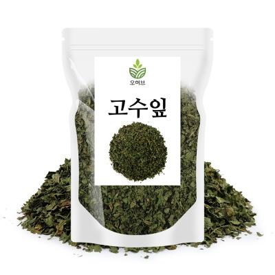고수잎 고수풀 코리앤더 실란트로 향신료 허브잎 500g