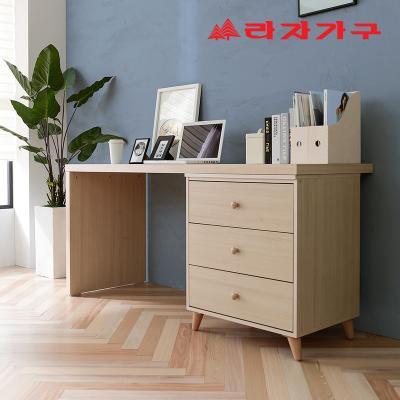 무노 책상+서랍장 세트 A형 1600