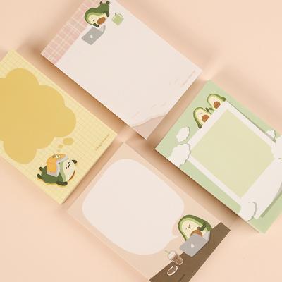 아보브라더 귀여운 깜찍 메모패드 떡메모지3