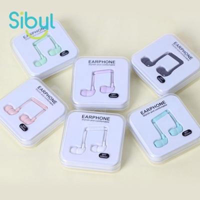 [1+1] 사이빌 ID-49 파스텔 음표 이어폰
