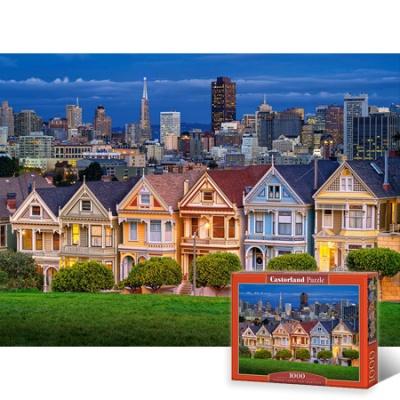 1000조각 직소퍼즐▶ 샌프란시스코의 일곱자매의 집 [LD103751]