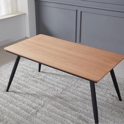 토바 무늬목 식탁 테이블 1400