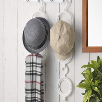 행거수납 원형 스카프 모자걸이