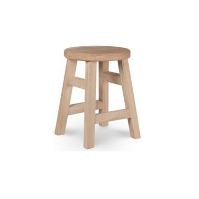 [Garden trading]Hambledon Raw Oak Small Stool FUOA10 원형의자