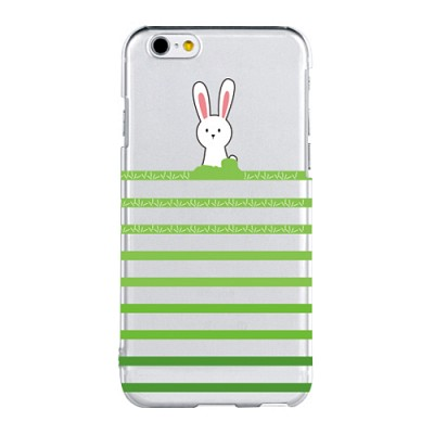Stripe Rabbit For Clearcase(아이폰케이스)