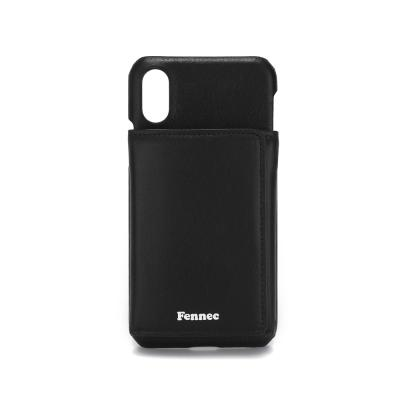 FENNEC iPHONE X/XS TRIPLE POCKET CASE - BLACK