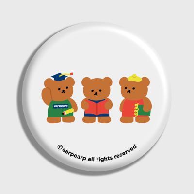 Smart bear friends-white(거울)