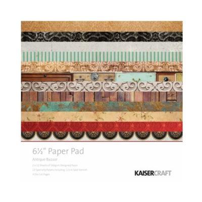 Antique Bazaar paper pad 6.5*6.5 inch
