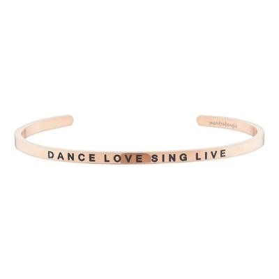 [만트라뱅글] DANCE LOVE SING LIVE - 로즈골드
