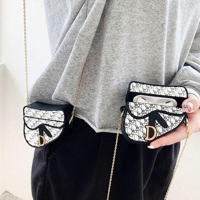에어팟1/2세대 고리 목걸이줄 세트 핸드백 케이스