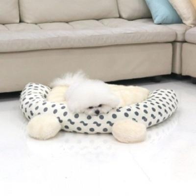 반려동물침대 애견베드 중 아이보리 강아지방석