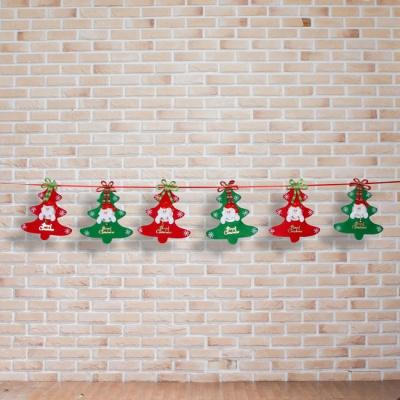 크리스마스 산타 데코 가랜드(200cm)