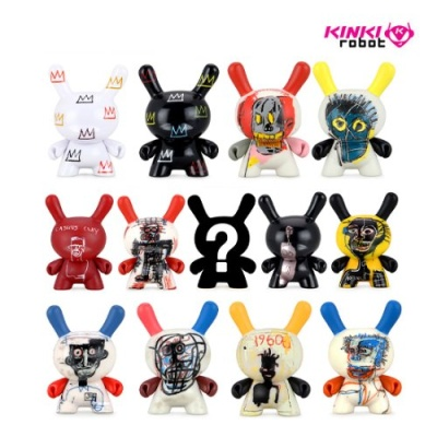 "BASQUIAT FACES 3"" DUNNY MINI SERIES (2011016)"