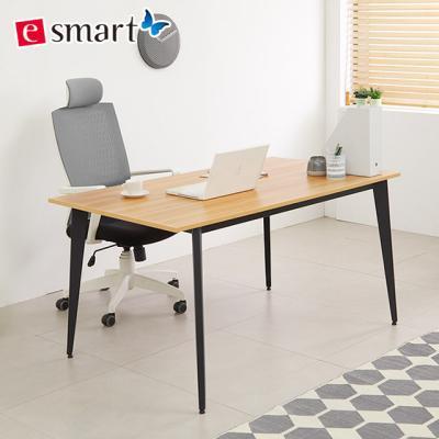 [e스마트] 철제 책상테이블 1400x600 디자인프레임