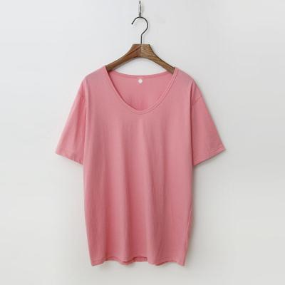 Nomal Cotton U-Neck Tee