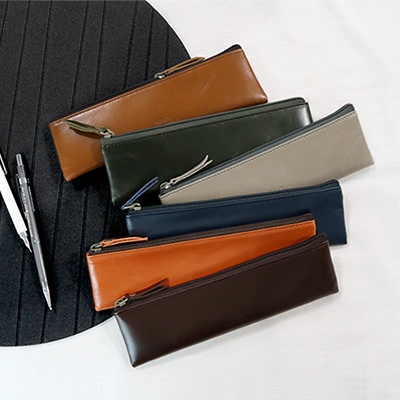 D.LAB Leather pencil case  - 6 type