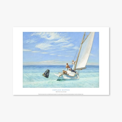 현대작가 포스터 갤러리 액자 002 Edward Hopper Ground Swell