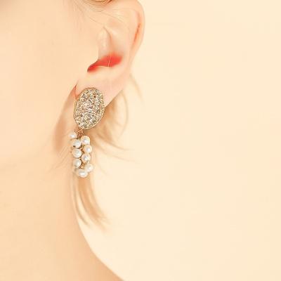 j-e26 grape pearl earring