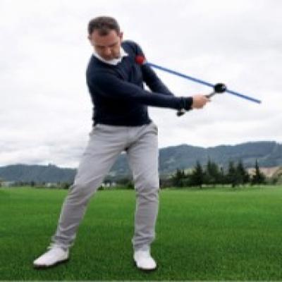 TCO 골프 스윙 연습기 스윙고 백스윙 교정기 실내외