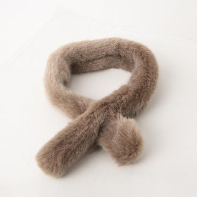Echo Fur Tie Muffler