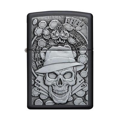 ZIPPO 49183 Gambling Skull