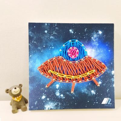 꼬마 UFO 스트링아트 만들기 패키지 DIY (EVA)