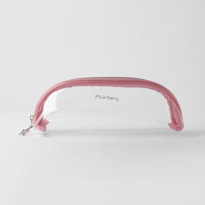 핀토리 스타 투명 파우치(핑크)