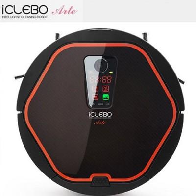 아이클레보 아르떼 모던블랙 로봇청소기 YCR-M05-10/카메라비젼방식,물걸레모듈,리모컨,도킹스테이션