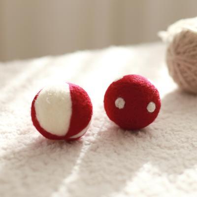 아기자기 패브릭 레드볼