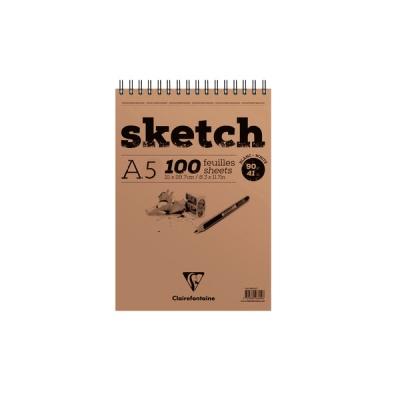[클레르퐁텐] 화이트 스케치북 (S)