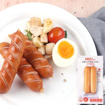 [허닭] 닭가슴살 소시지 리얼바베큐맛 120g 1+1