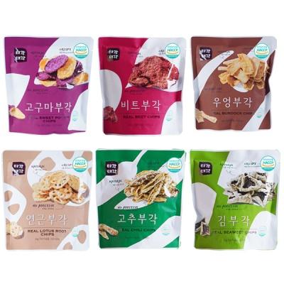 부각(고추+우엉+고구마+비트+김+연근)x각30g