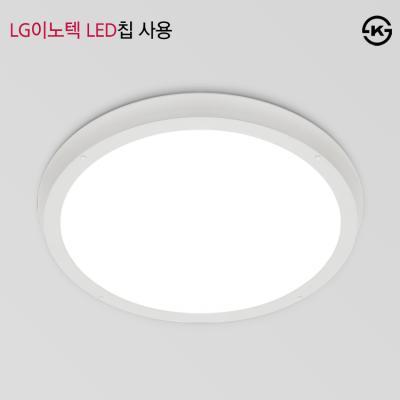 라운드 엣지평판 LED 방등 50W [LG이노텍LED칩/국내산]